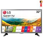Smart TV LED 32' LG 32LJ600B HD com Wi-FI 1 USB 2 HDMI 120Hz