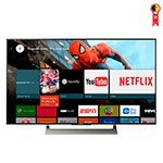 Smart TV Android LED 75' Sony XBR-75X905E 4K Ultra HD HDR com Wi-Fi 3 USB 4 HDMI Motionflow 960 Triluminos e X-Reality PRO