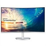 Monitor 27' LED Full HD LC27F591, HDMI, Entrada Áudio e Vídeo, Tela Curva - Samsung