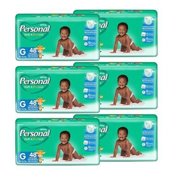 Fralda Descartável Tam. G - 288 Unidades Personal Baby