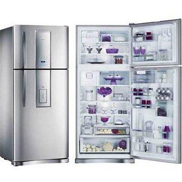 Refrigerador 2 portas frost free di80x infinity 542l inox for Geladeira 2 portas inox